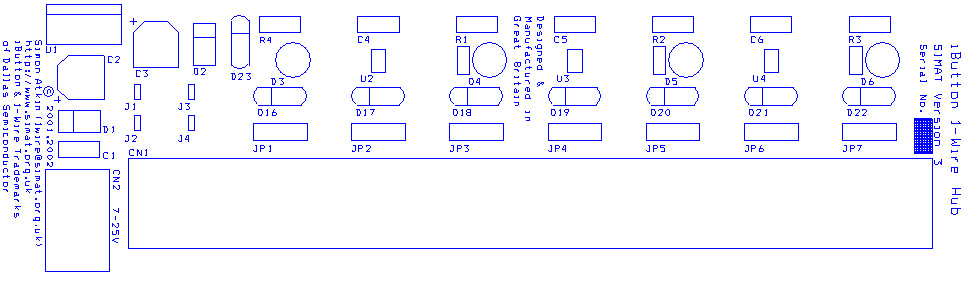 Wire Hub Version SIMAT Electronic Projects - 1 wire hub schematic