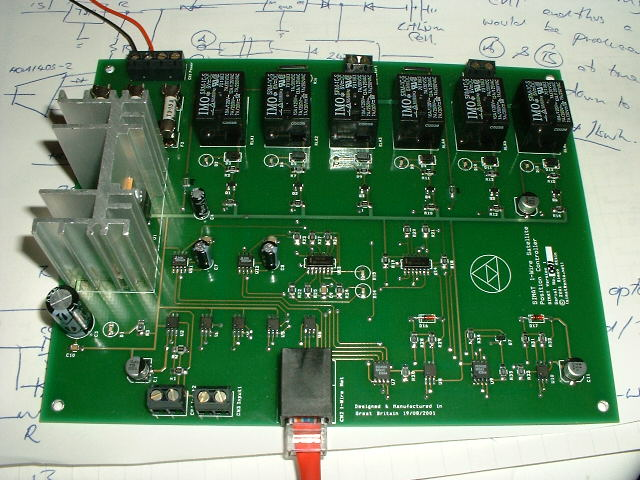 Wire Satellite Position Controller SIMAT Electronic Projects - 1 wire hub schematic